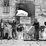 Foto Intifada; saat rakyat Palestina yang melawan dengan batu